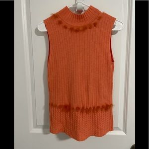 ESCADA Cashmere Cotton Sweater Tank